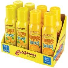 Citrus Splash and Orange Squeeze Air Freshener - 4-oz. / 8 per Case (Set of 16)