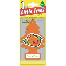 Peach Little Tree Air Freshener