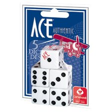 Ace Spot Dice (Set of 5) (Set of 5)