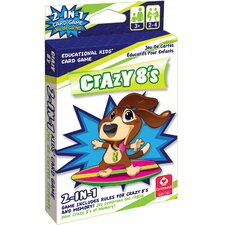 2-in-1 Card Game Crazy 8's and Memory