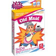 2-in-1 Card Games Old Maid and Memory