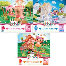 Lalaloopsy Glitter Puzzle (Set of 60)