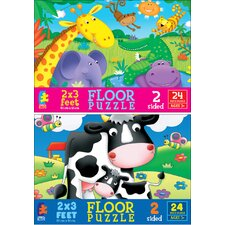 <strong>Ceaco Inc</strong> 24 Piece Floor Puzzle