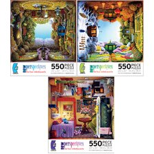 New Perspectives Four Sided Jigsaw Puzzle