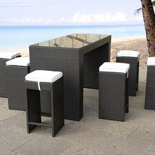 Verona 7 Piece Dining Set with Cushion