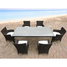 Italy 160 7 Piece Dining Set
