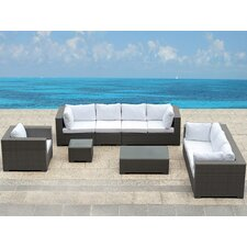 <strong>Beliani</strong> Maestro 7 Piece Deep Seating Group with Cushion