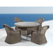 <strong>Beliani</strong> Naples 5 Piece Dining Set