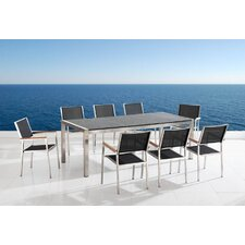 <strong>Beliani</strong> Grosseto 9 Piece Dining Set