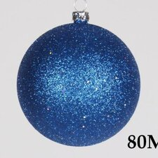 Glitter Ball Ornament (Set of 12)