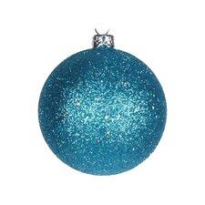 Glitter Ball Ornament (Set of 12)
