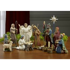 14 Piece Real Life Nativity