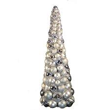 3' Silver Ornament Tree