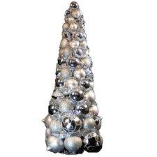2' Silver Ornament Tree