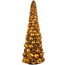 3' Gold Ornament Tree