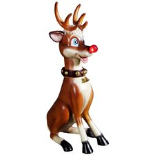 <strong>Queens of Christmas</strong> Reindeer Figurine