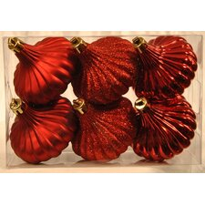 Ridged Onion Ornament (Set of 6)
