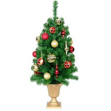 Pre-Decorated Tree with Urn
