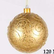 <strong>Queens of Christmas</strong> Ball Ornament Glitter