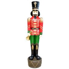 <strong>Queens of Christmas</strong> Nutcracker with Horn Yard Decor