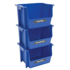 Recycling Stack Bin (Set of 6)