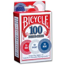 Bicycle Poker Chips (Set of 100)