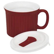 22 oz. Red Corning Ware Mug