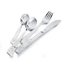 4 Piece Teddy Flatware Set