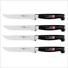 <strong>Zwilling JA Henckels</strong> Twin Four Star II 4 Piece Steak Knife Set