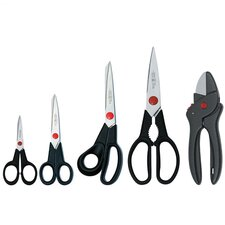 <strong>Zwilling JA Henckels</strong> Twin L 5 Piece Household Scissor Set