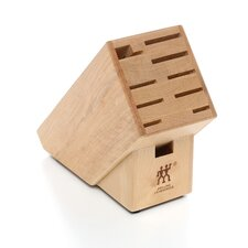 Hardwood Block with 10 Slots