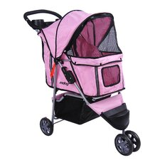 3-Wheel Front & Rear Entry Pet Stroller