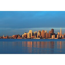 Skyline of San Francisco Photographic Print on Canvas