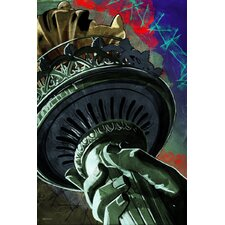 """Statue of Liberty"" Painting Prints on Canvas"