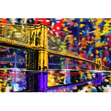 """Brooklyn Bridge"" Painting Prints on Canvas"