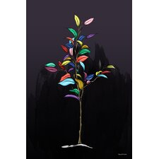 """Tree of Color"" Graphic Art on Canvas"