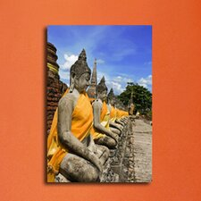 Statue of the Buddha Photographic Print on Canvas