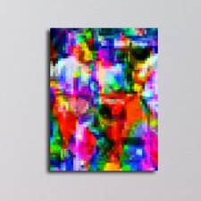 Blurred Illustration Graphic Art on Canvas