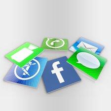 IPhone Icons Coaster (Set of 6)