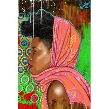 """Bassa Girl"" Graphic Art on Canvas"