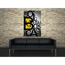 Alphabets Canvas Print