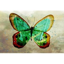 Butterfly Graphic Art on Canvas