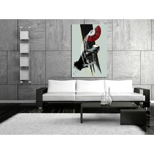 Fan Dancer Canvas Print