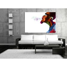 Guy Breathe Canvas Print
