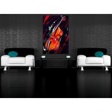 Double Bass Painting Print on Canvas
