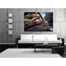 Road Surfing Canvas Print