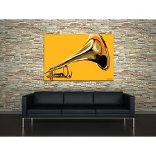 Sound The Trumpet Canvas Print