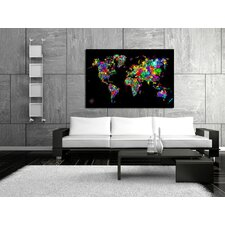 World of Colors Canvas Print