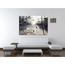 Two Cranes Canvas Print