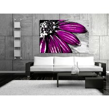 <strong>Maxwell Dickson</strong> Purple Petals Canvas Print
